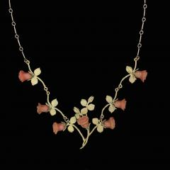 Red Rose Vining Necklace - Rote Rose